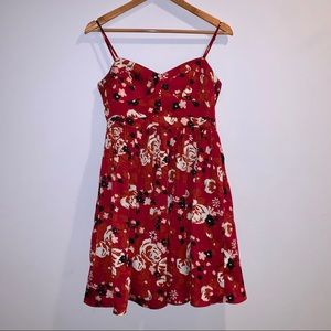 Fossil floral babydoll dress